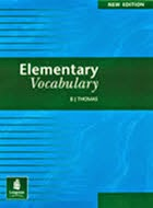Elementary Vocabulary, BJ Thomas, Elementary Vocabulary, BJ Thomas