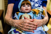 Baby doll therapy in Alzheimer's and dementia care.