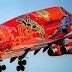 ¿Graffiti  en aviones?