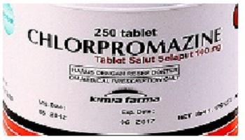 دواء كلوربرومازين Chlorpromazine مضاد الذهان, لـ علاج, الذهان، العدوانية, الفُصام، الهَوَس، الخرف,  اضطراب القلق, البرفيرية الحادة, انفصام الشخصية, اضطراب التحدي الاعتراضي, الكزاز المستعصي, الغثيان والتقيؤ الذي يسببه علاج دوائي أو إشعاعي أو كنتيجة لتخدير عام, السلوكيات العدوانية او النشاط المفرط عند الأطفال (1 - 12 سنة).