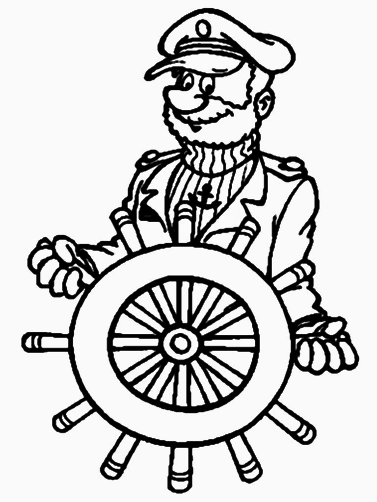 mariner coloring pages