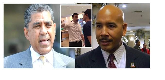 Espaillat y Díaz piden revocar licencia de abogado racista que insultó y amenazó inmigrantes en un restaurante