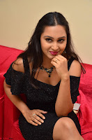 South Actress Amulya in short black dress at Kalamandir Foundation 7th anniversary Celebrations ~  Actress Galleries 058.JPG