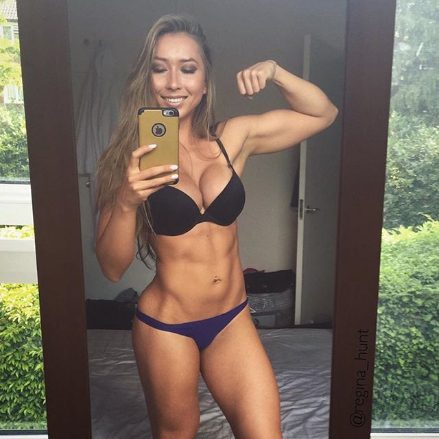 Fitness Model GINA HUNT beautiful photos