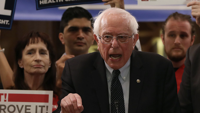 "Bernie Sanders accuses liberal think tank of ""smearing"" progressives"