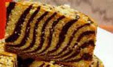 Resep praktis (mudah) kue bolu zebra spesial (istimewa) enak, legit, lezat