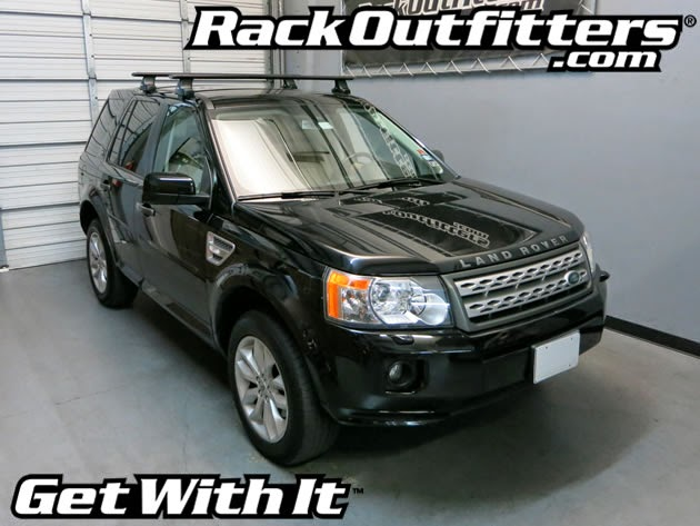 Rack Outfitters: Land Rover LR2 Thule Rapid Traverse BLACK ...