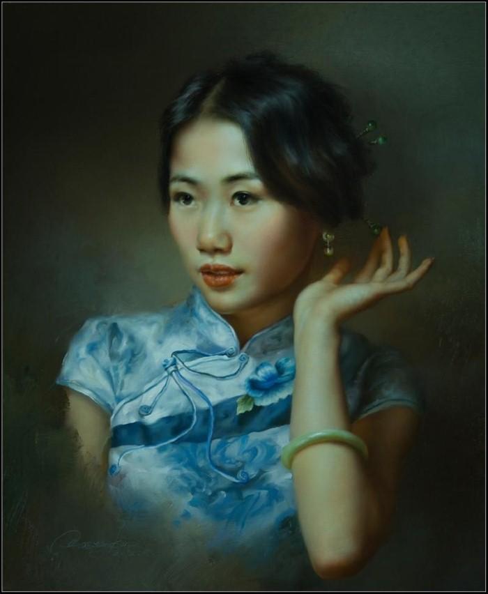 Современный классический реализм. Wang Kun 5