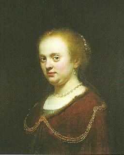 """""""Retrato da Irmã"""", Rembrandt"""