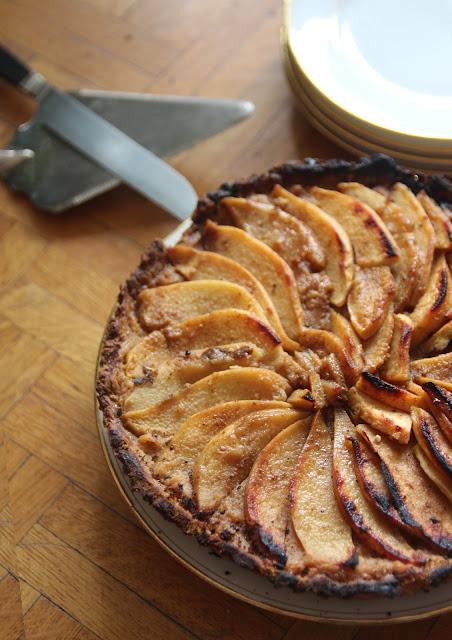 Tarte pommes-coing aux épices