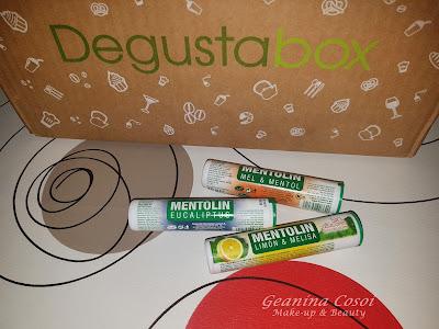 Caramelos Mentolin Caja Degustabox - Septiembre ´16