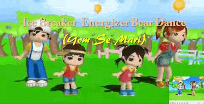 Ice Breaker Energizer Bear Dance (Gom Se Mari)