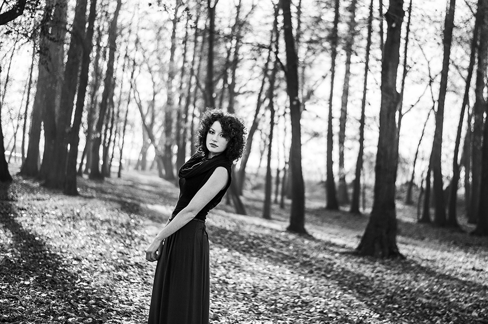 Black and white - sesja kobieca z Sylwią