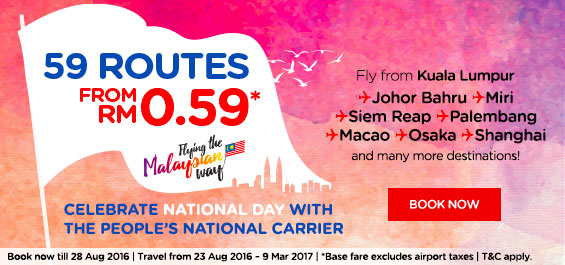 AirAsia Cheap Seats Flight Ticket Fares Promo