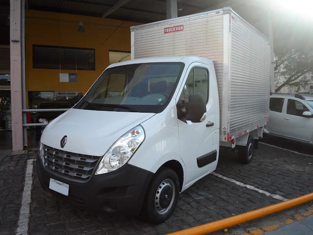 Renault Master Chassi-Cabine: solução para diversas atividades