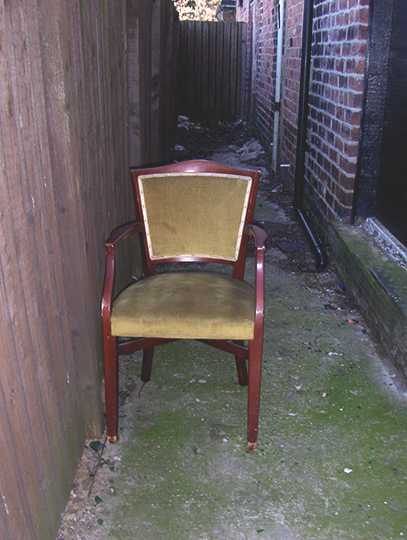 urban photography, take a seat, chairs, abandoned chair, urban photos, contemporary, art, Sam Freek,