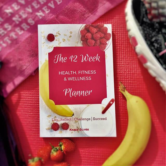 12 Week Health, Fitness & Wellness Planner