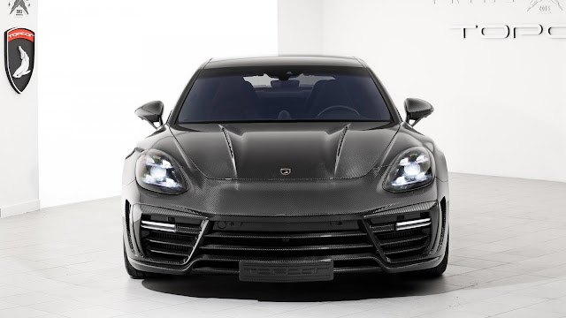 Papel de parede Porsche Panamera Stingray GTR Carbon para PC, Notebook, iPhone, Android e Tablet.
