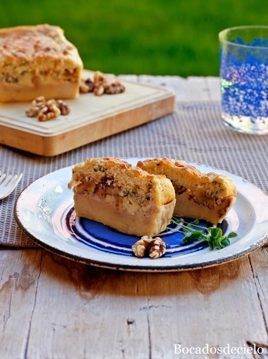 Cake Sal Ef Bf Bd Roquefort Poires