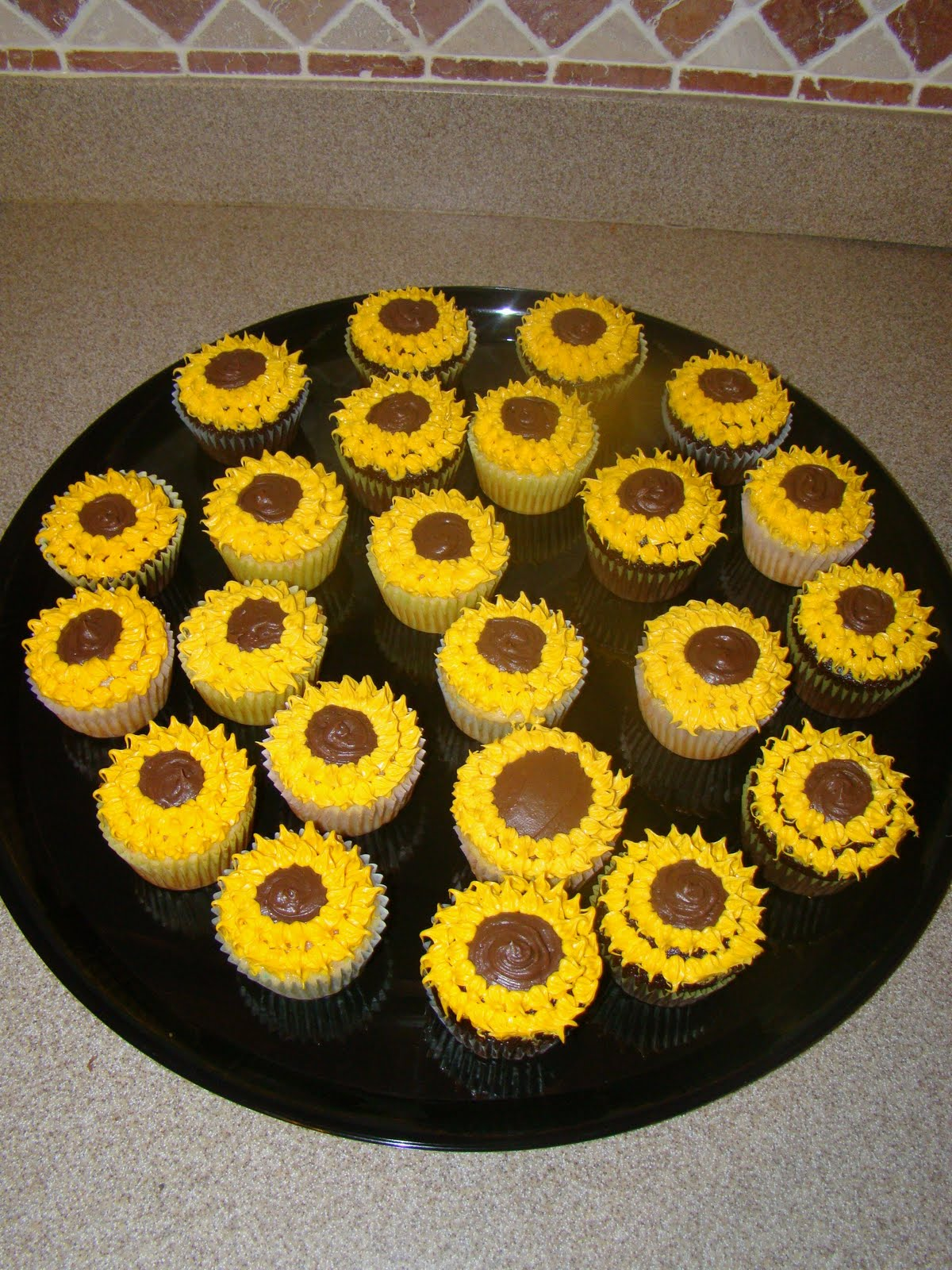 Anatomy Of A Craft Sunflower Cuppycakes