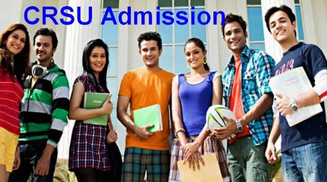 CRSU Admission