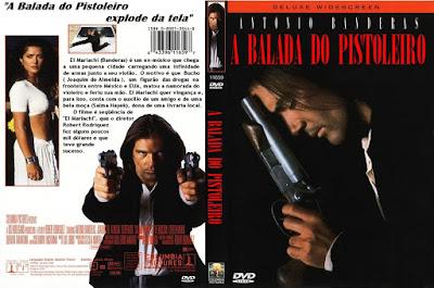 Filme A Balada do Pistoleiro DVD Capa