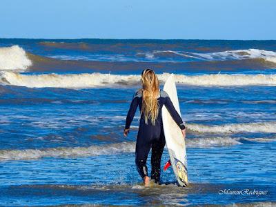 Surf Feminino Show em Praia do Cassino