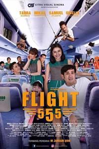 poster Flight 555