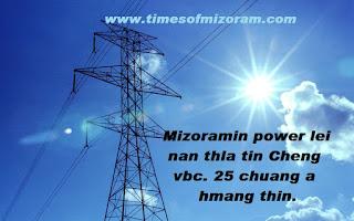 Power & Electricity Secretary H Lalengmawia