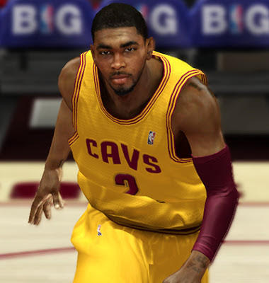 NBA 2K13 Kyrie Irving Cyberface Mods Patch