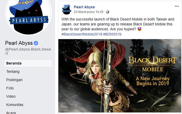 Cara Instal dan Bermain Game Black Desert Mobile [KR] Bahasa Inggris