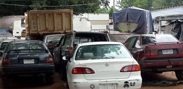 Ogun Customs Intercept 6,194 Bags Of Smuggled Rice, 340 Kegs Petrol, 33 Vehicles