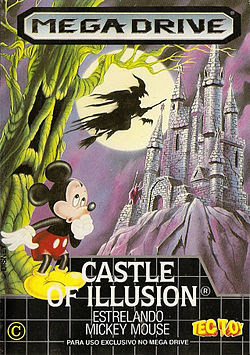 Rom de Castle of Illusion Starring Mickey Mouse - Mega Drive - PT-BR