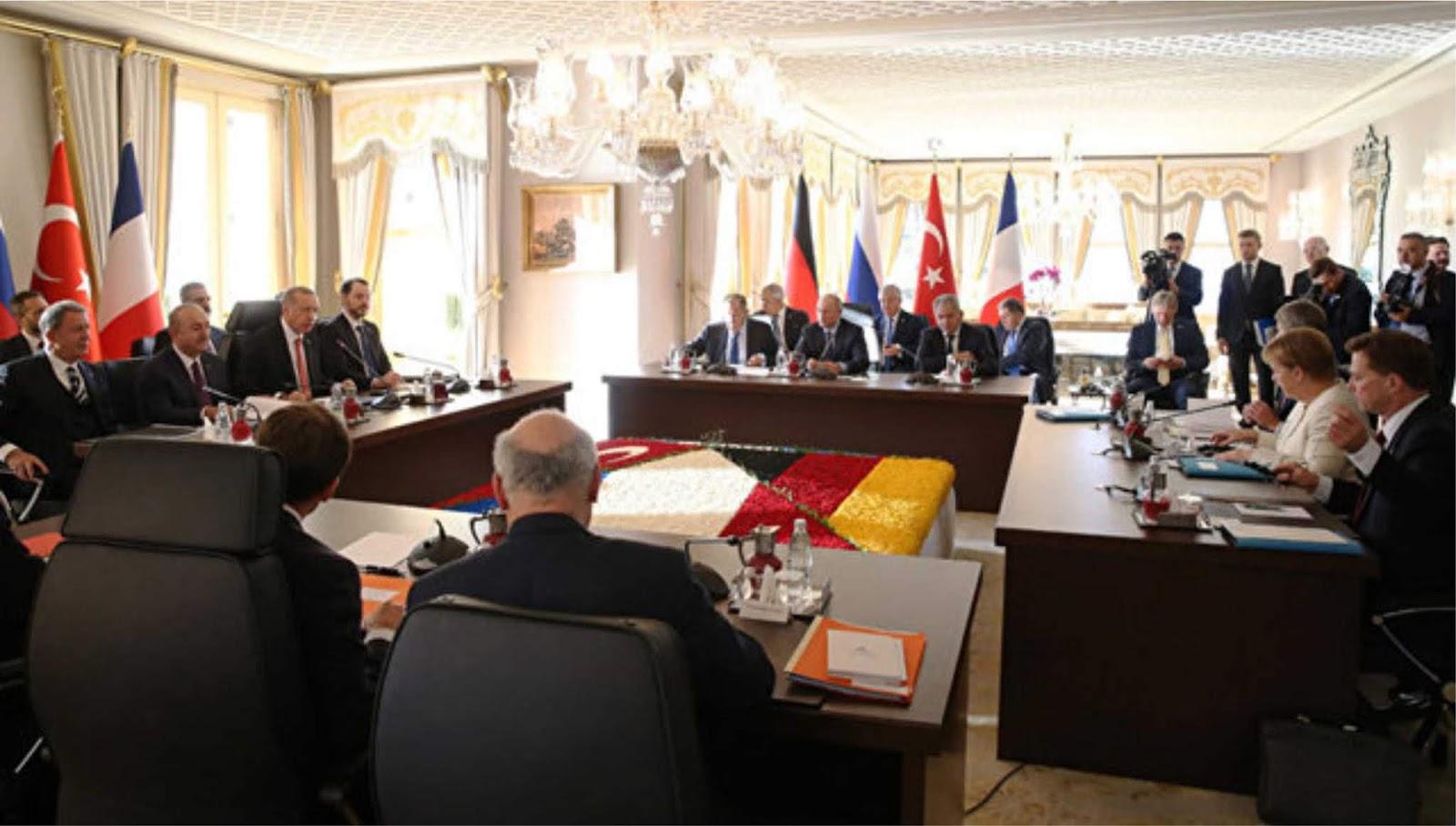 Rusia, Jerman, Turki dan Prancis telah menyatakan komitmennya pada integritas teritorial Suriah