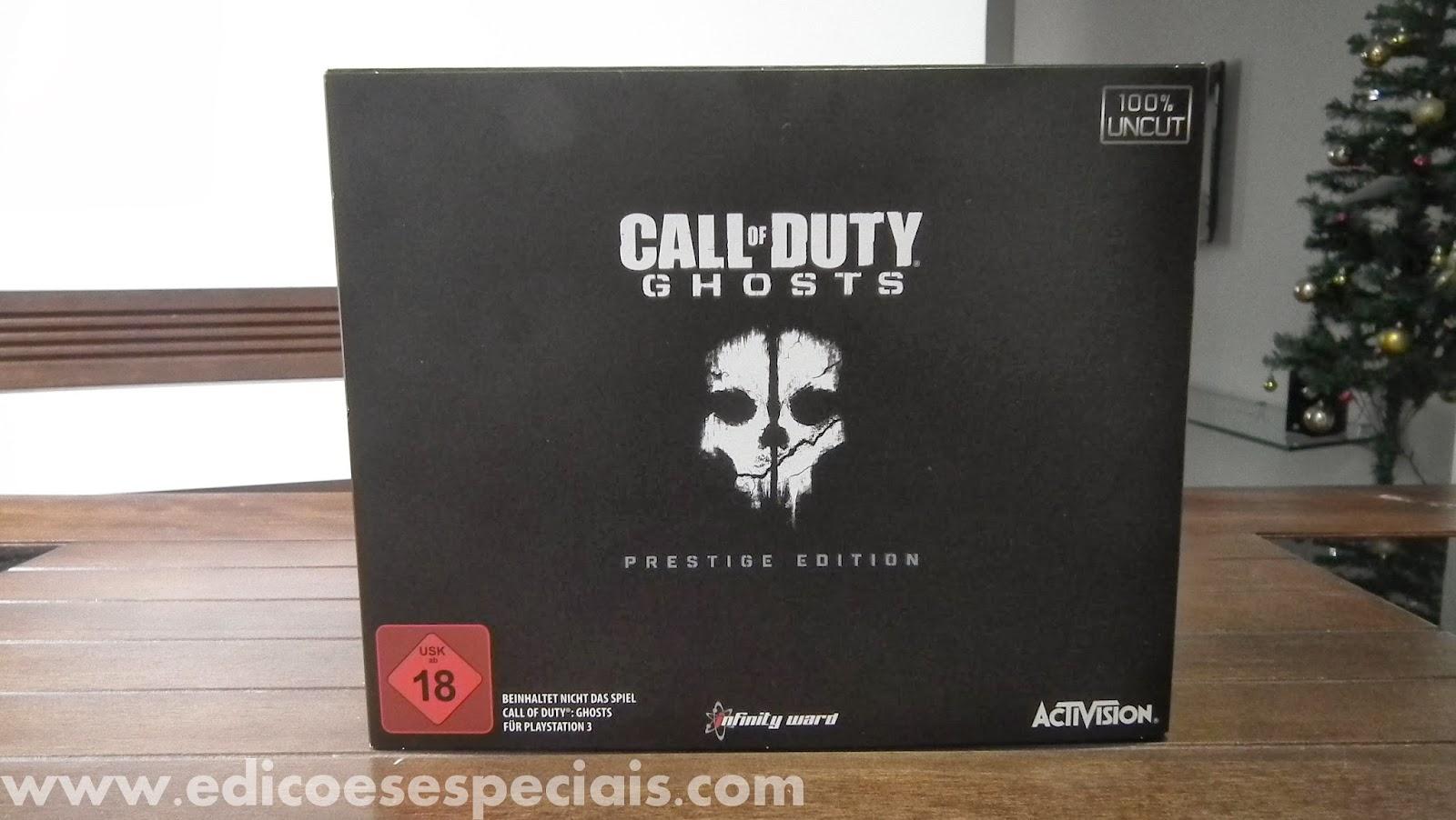 Call of Duty Ghosts  Prestige Edition ~ EDIÇÕES ESPECIAIS f06fad3bdd