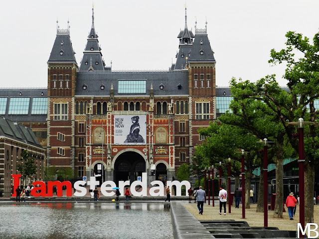 I amsterdam museum plein