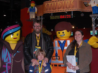 We meet Wyldstyle and Emmet #legomovie
