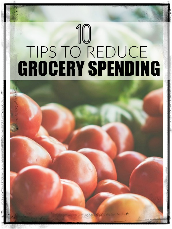10 tips to help you cut grocery spending