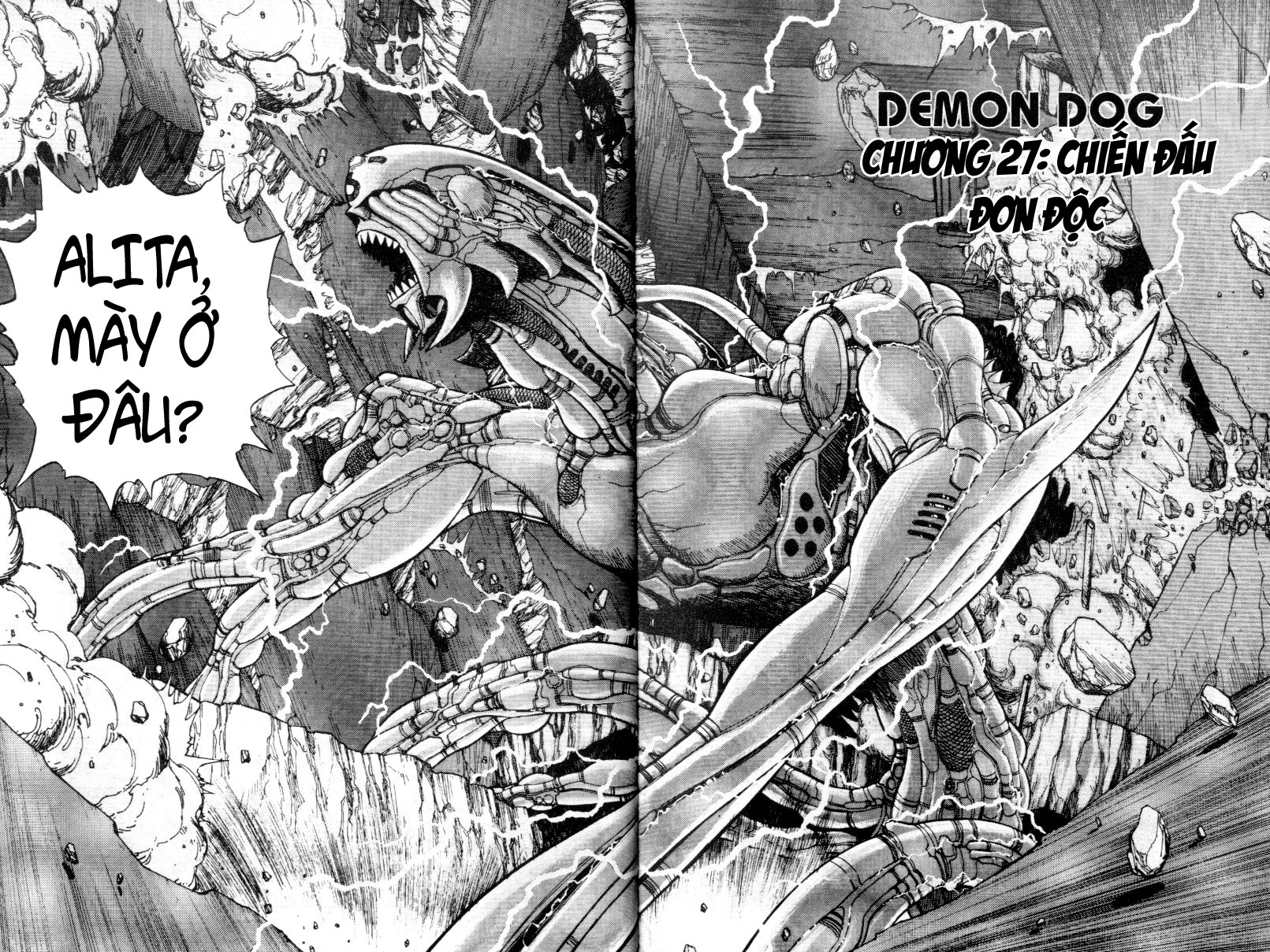 Battle Angel Alita chapter 27 trang 5