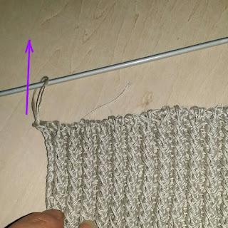 伏せ目の編み方①, how to end of knitting, 棒针编织的结束方法