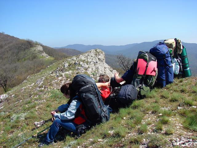 Вид с вершины на восток