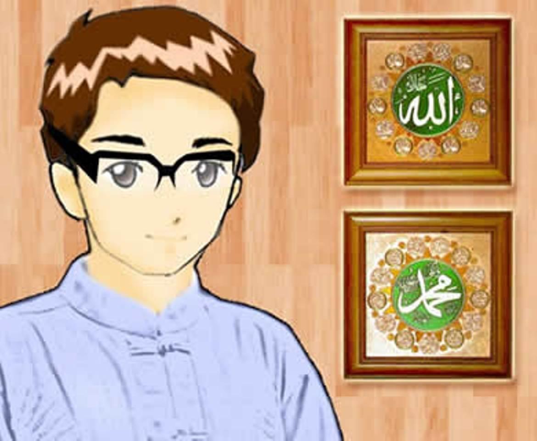 Populer 12 Gambar Kartun Muslim Ikhwan Cowok Pria Laki
