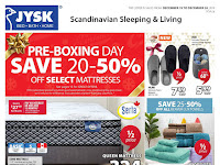 JYSK Sales Flyer December 19 - 25, 2019