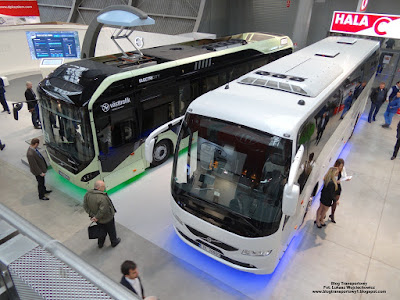 Volvo 7900 Electric Hybrid i Volvo 9700, TransExpo 2016