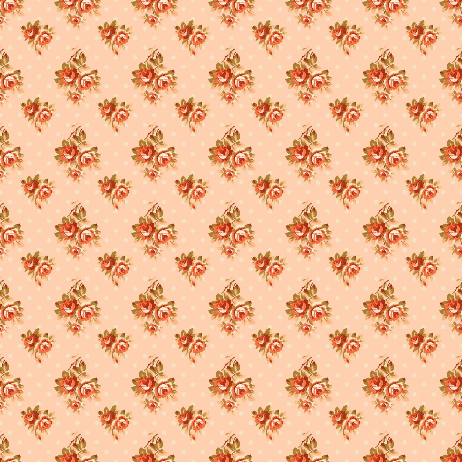 Scrapbook paper download - Rose Digital Paper Download Scrapbook Image