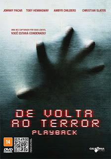 Download Filme De Volta Ao Terror DVDRip AVI Dual Áudio