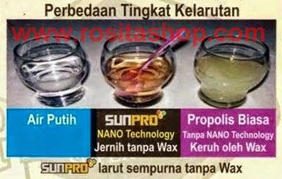 perbedaan propolis sunpro nasa