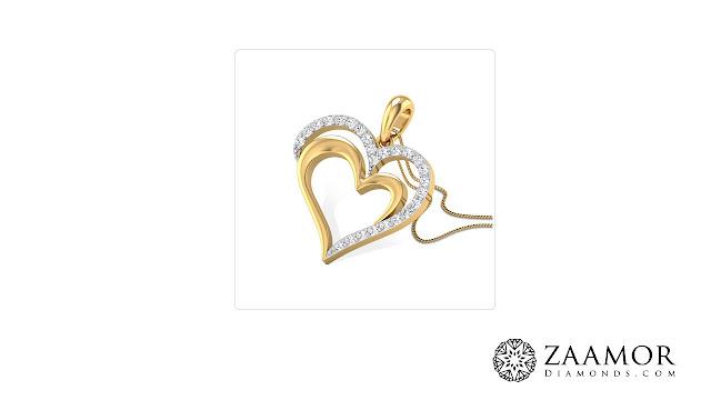 Elise Diamond Pendant