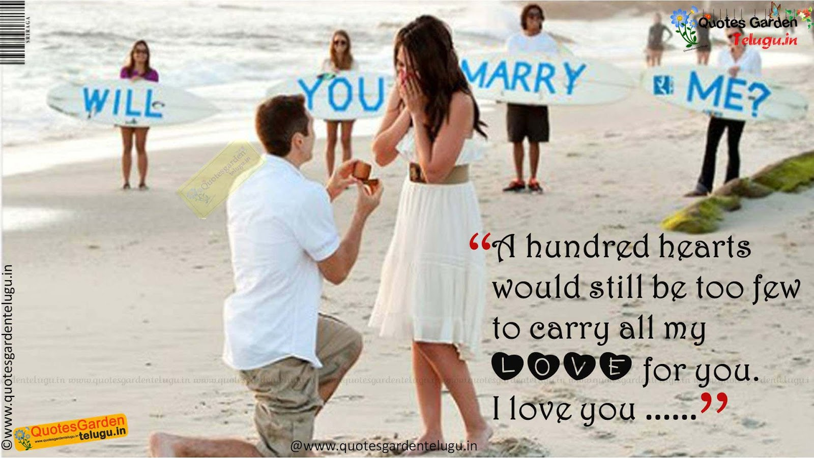 Best Love Proposals 942 QUOTES GARDEN TELUGU Telugu