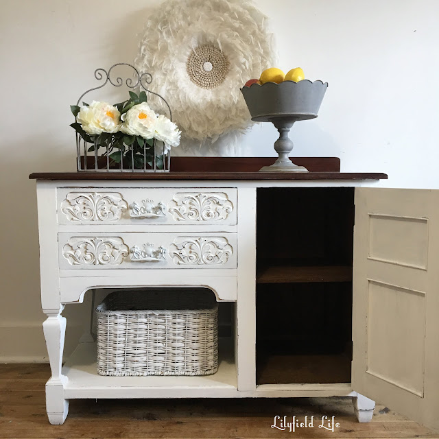 Lilyfield Life vintage oak cabinet